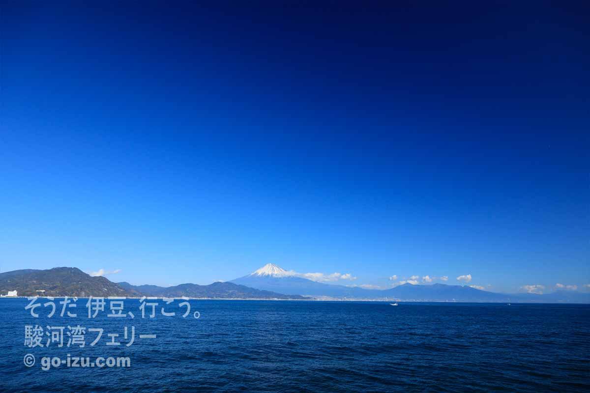 青い空と富士山
