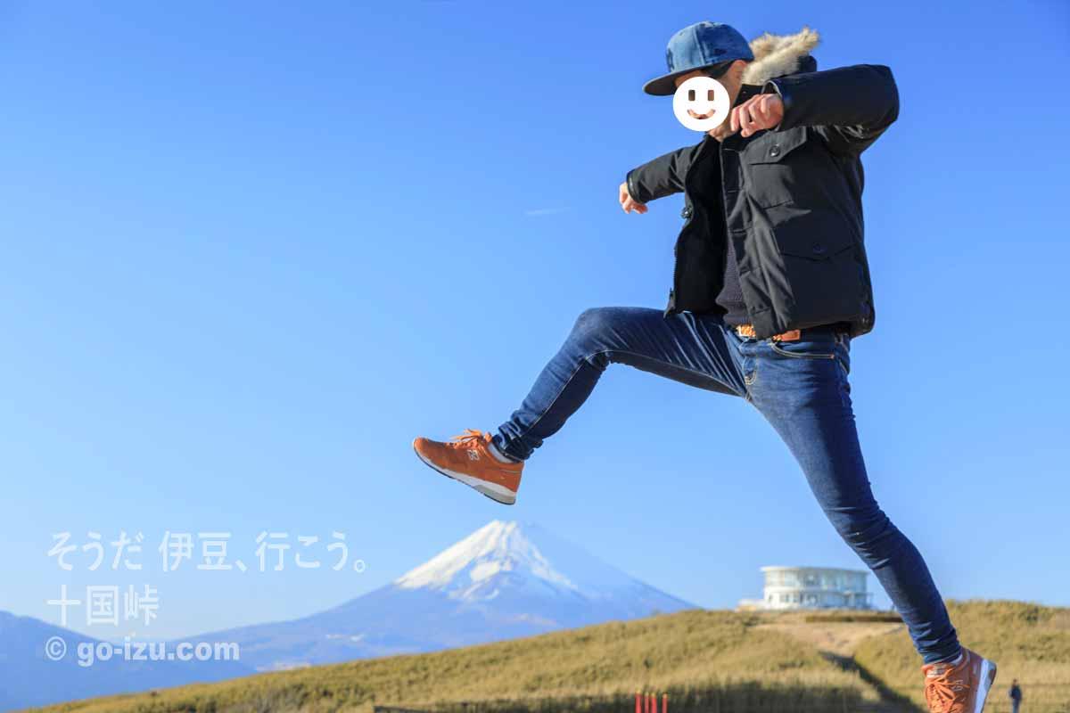 富士山を踏む!