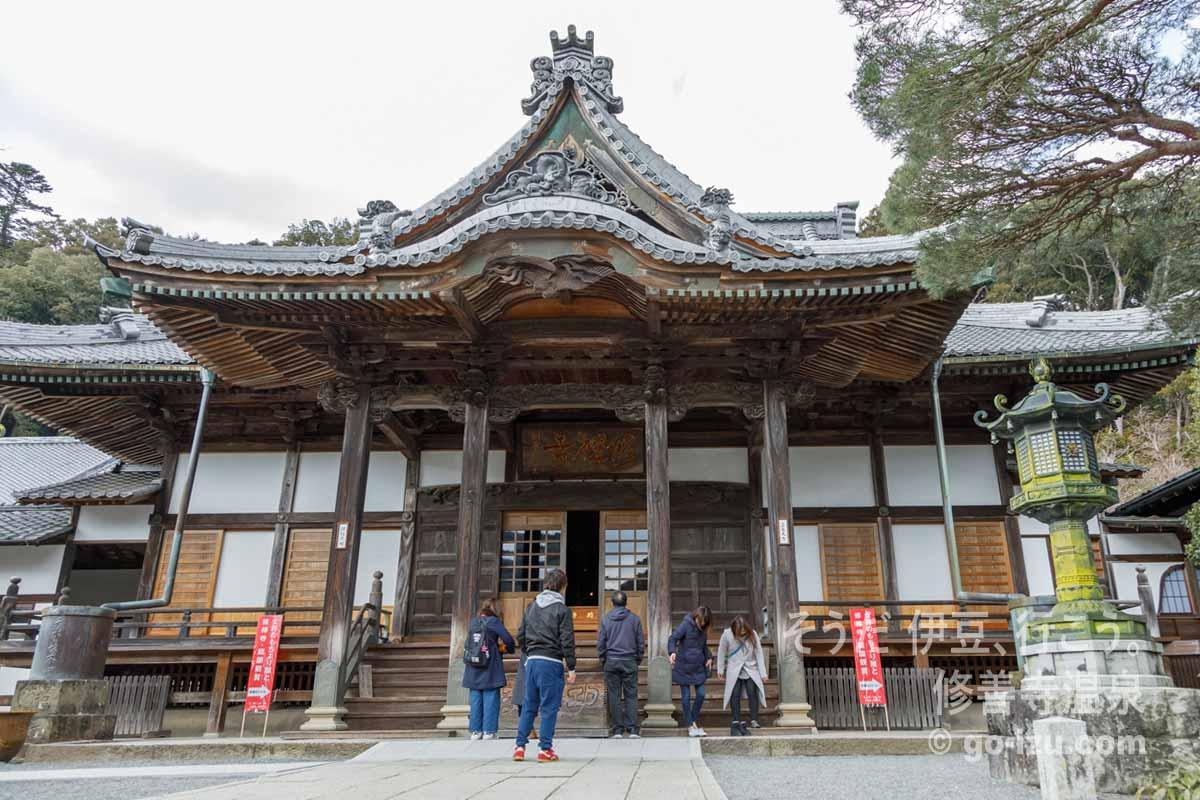 修禅寺 本殿
